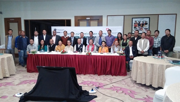 'Towards a climate resilient Manipur' State Legislators' Dialogue in Imphal