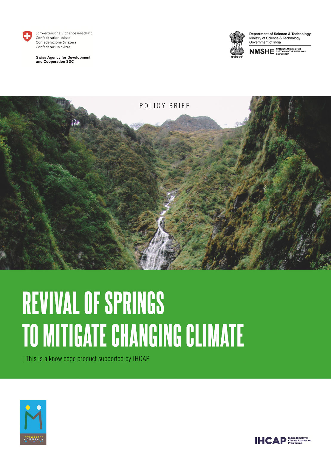 Revival of Springs IMI Policy Brief